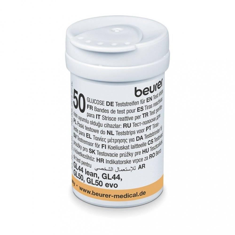 Beurer GL 48/49/50 TS Test Şeritleri