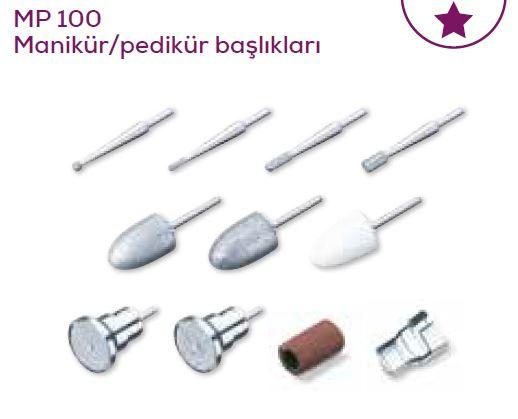 Beurer MP 100 Manikür/Pedikür Başlıkları