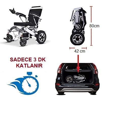 Pulsemed Elektrikli Tekerlekli Sandalye HG-W630 Auto