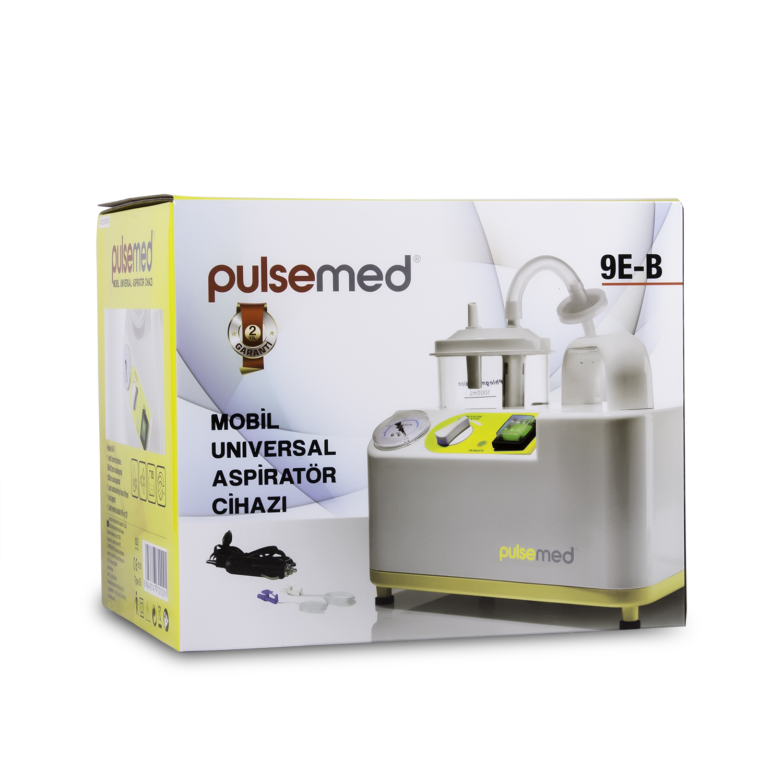 Pulsemed 9E-B Aspiratör Bataryalı