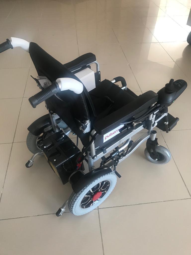 Pulsemed Akülü Tekerlekli Sandalye N560