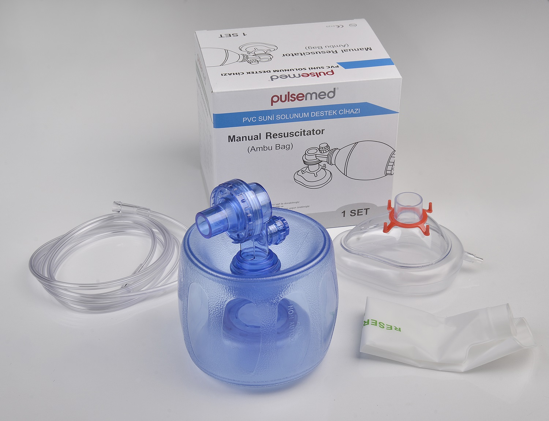 Pulsemed Solunum Cihazı PVC ( Ambu )